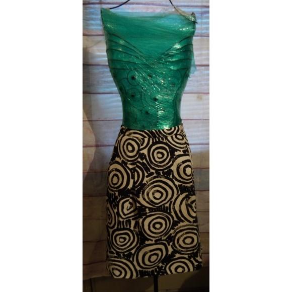 clements ribeiro Dresses & Skirts - Black/white circle skirt size 4